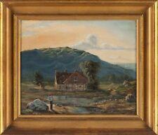 Peintures et émaux du XIXe siècle et avant paysage pour Réalisme