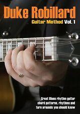 DUKE ROBILLARD - GUITAR METHOD VOL.1   DVD NEU