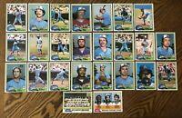 1981 ATLANTA BRAVES Topps COMPLETE MLB Team Set 25 Cards MURPHY NIEKRO HORNER