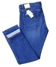 $140 NWT Lacoste Women's Jeans Slim Fit Classic Waist Tapered Leg Hem Size 40x34
