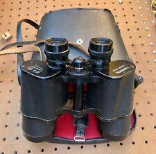 Vintage Yashica Coated Optics10x 50 Field 5.5* Metal Binoculars W/Case