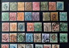Italien ab Klassik 1863 + 50 verschiedene Werte gestempelt