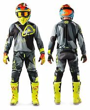 MAGLIA PANTALONI CROSS ENDURO ACERBIS SATISFACTION NERO GIALLO FLUO TG 36 XL