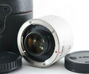 Canon EXTENDER EF 2x Teleconverter For EOS EF w/ Case [N Mint] Japan 806783