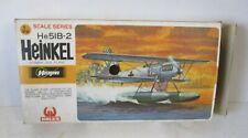 Hasegawa 1:72 Heinkel He 51B-2 German Sea Plane