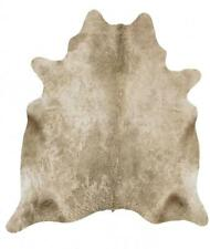 Exquisite Natural Cow Hide Rug, Champagne