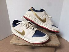 5d015ed6051003 Nike Dunk SB Old Spice Men s 12 Black Box 304292 272 White Blue Red Gold  2007