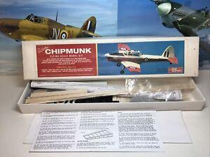 AERO GRAPHICS DE HAVILLAND CHIPMUNK Flying Scale Model, Complete & Unstarted