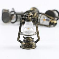 1Pc 1:12 1:6 Dollhouse miniature retro oil lamp doll house accessories toyOI
