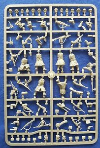 Warlord games bolt action 28mm German infantry (winter) sprue