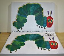 ERIC CARLE THE VERY HUNGRY CATERPILLAR SIGNED LIMITED GIANT EDITION NEW UNREAD