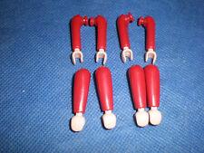 Playmobil garde gardist 8 x brazos Arms rojo top sin usar unplayed