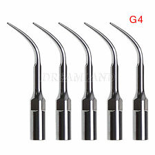 5X G4 Dental Ultrasonic Scaler Scaling Tips Fit EMS WOODPECKER Handpiece zd-h