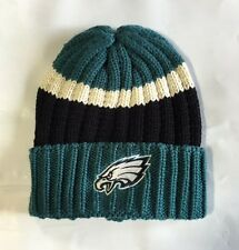 Philadelphia Eagles Knit Beanie Winter Hat Toque Skull Cap New Thick knit cuffed