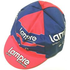Retro Lampre Cycling Team Cap - Made By Santini