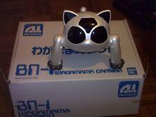 BANDAI BN-1 WAGAMAMA CAPRIRO BN1 ROBOT CAT NEW IN BOX LIKE AIBO GENIBO