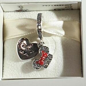 Genuine PANDORA DISNEYLAND PARIS EXCLUSIVE MICKEY & MINNIE Charm 797146EN09