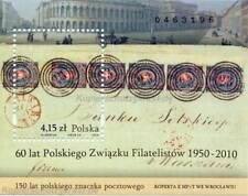 POLEN POLSKA - 2010 BLOCK 190 I MIT AUFDRUCK 60 JAHRE PHILATELISTENVERBAND **
