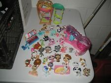 30 HASBRO LITTLE PET SHOP ANIMALS ACCESSORIES PLAYSET LOT LPS FIGURES UNSEARCHED