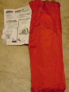 Coleman tent 7' x 7' sundome #9280-717 Camp 2006 Marlboro Adventure Hiking New