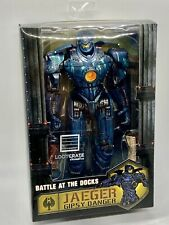 "NECA Pacific Rim Battle at the Docks Jaeger Gipsy Danger Figure 7.5"" New Sealed"
