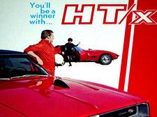 1969 Dodge Charger * Dixco Hood Mounted Tach Original Ad *Rt/Se/426 Hemi/emblem