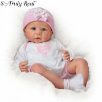 "Ashton Drake Linda Murray ""Worth The Wait"" Poseable Weighted Baby Doll NEW Gift"