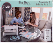 Sizzix Big Shot Plus Starter Kit Machine Cutter Crafts Die Scrap Booking Photo