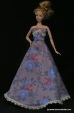 Silkstone Model Muse Handmade Rose Barbie Dress Gown USA Seller fashion #B36