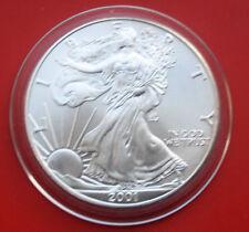 "Amerika: 1 Uz.-Oz ""Silver Eagle"" 2001, ST-BU  #F 2047, Seidenmatt"