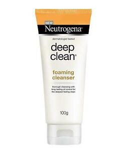 Neutrogena Deep Clean Foaming Cleanser, 100 Gram