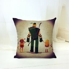 Young Superhero Series Cushion Cover #5 Green Arrow, 43x43cm, UK Seller, BNWOT