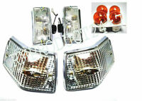 VESPA P150 P200E LUSSO PX150 FRONT + REAR BLINKER INDICATOR WITH BULBS