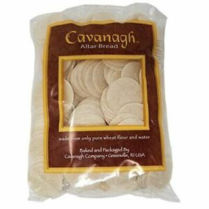 """Cavanagh Altar Bread 1 3/8"""" Whole Wheat, packed in bags of 250"""
