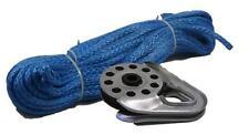 Dyneema Winch Rope Steel 9mm x 40m ++BONUS SNATCH BLOCK++