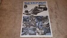 Wolf WR1 Ford F1 1/12 Tamiya 12024  Instructions(Japanese)