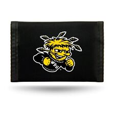 Wichita State Shockers Licensed Nylon Trifold Wallet FREE US SHIPPING