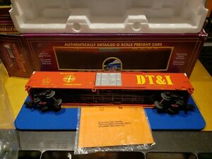 MTH 20-94038 DT&I 60' Express Reefer Car Detroit, Toledo & IrontScale 🚂 LOT New