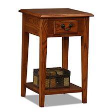 Leick Furniture 9041-MED Shaker Square End Table-Medium Oak
