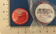 2005 Detroit Tigers All Star Game Red Carpet Show Button and Bud Light Bead RARE