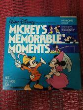 WALT DISNEY SUPER 8 HOME MOVIE box 1970s Mickey's memorable moments