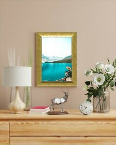 6 x A4 Certificate Photo Picture Frame Opera Gold 21 x 29.7 cm Home Office Decor