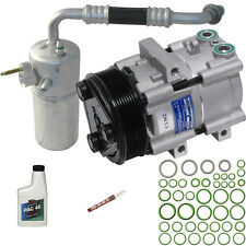 New A/C Compressor Kit With Clutch With Front AC for 99-01 F-150