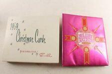 1959 & 68 Christmas Card Collection Salesman Sample Albums & Cards