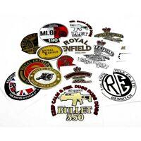 For Royal Enfield Decal Petrol Tank Toolbox Pannier Sticker Bag Box Badge AUS