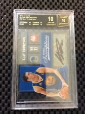 KLAY THOMPSON 2012-13 ELITE INSCRIPTIONS AUTO BLACK LABEL PRISTINE BGS 10/10 RC