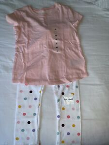NWT Old Navy Girls 4T Months Legging & T- Shirt Set