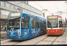 Tram Transport Postcard - Croydon Tramlink - Tram No.2546 & Tram No.2537 - A8381
