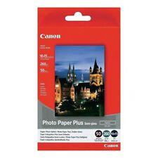 "CANON 6"" x 4"" 10cm x 15cm PHOTO PAPER PLUS SEMI GLOSSY 260GSM 50 SHEETS - SG-201"
