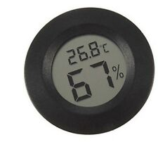 New Lcd Display Thermometer Hygrometer Humidors Instrument Case Violin Guitar